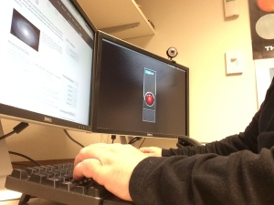 The helpdesk in action: Ben Weaver making SDSS science possible for yet another scientist.